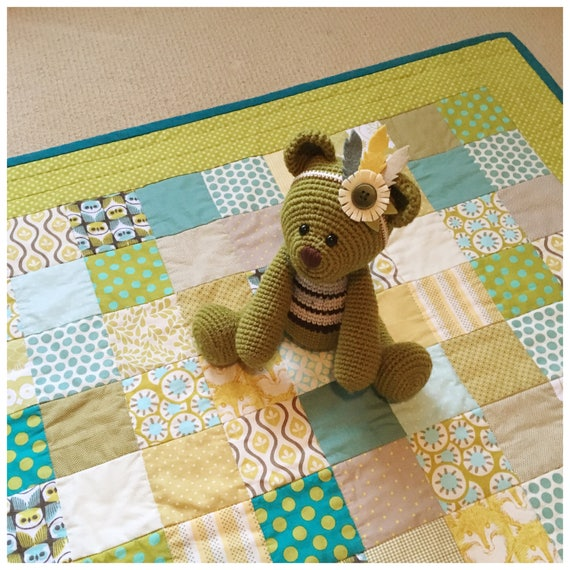 In the Woods Patchwork Play Mat