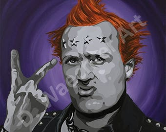 The Young Ones - Vyvyan Large Print