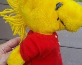 1972 Woodstock Stuffed Animal