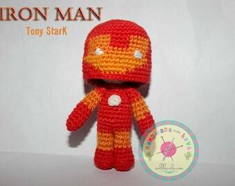Amigurumi Iron Man Doll