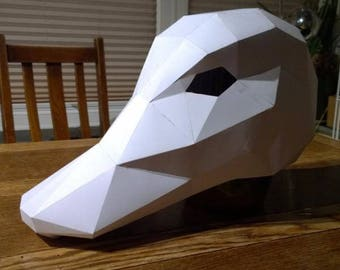 Duck Mask -  Make your own with this simple PDF download