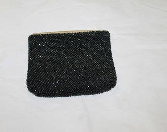 Antique Coin Purse, Great For Evenings Out, Fashion Accessory, Fashion Statement, Great Condition, Leather Inside, Shiny & Sparkly, NICE
