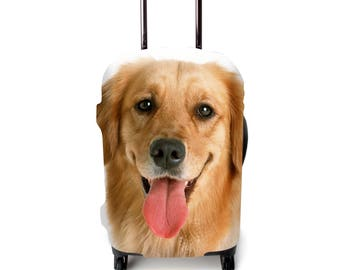 Luckiplus Animal Luggage Cover Suitcase Protective Cover Fits 18-32 Inch Luggage