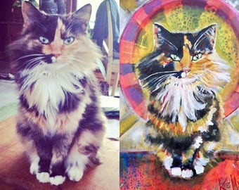 Cat Portrait, an example of my work.