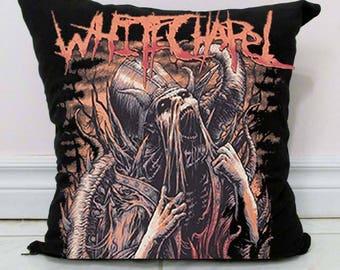 Whitechapel Pillow DIY Deathcore Decor B3 - Made to Order