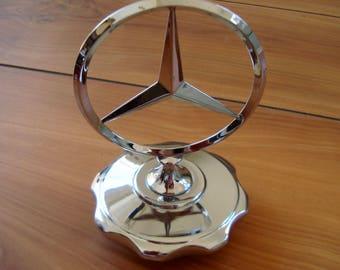 Vintage tristar etsy for Mercedes benz hood ornament