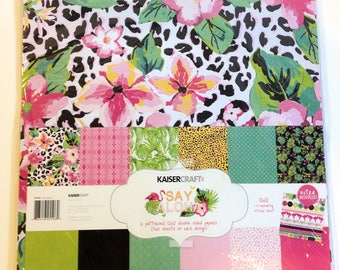 "KaiserCraft ""Say Aloha"" 12"" x 12"" Paper Kit"