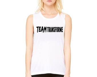 Team Transforme Womens Flowy Tank