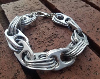 Soda Can Tab Link Bracelet