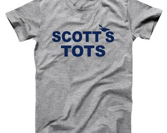 The Scotts Tots Office Funny Show Humor Club Michael Basic Men's T-Shirt DT2152