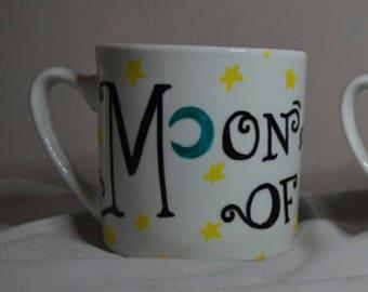 "Handmade Mug ft. ""Game Of Thrones"" Slogan"