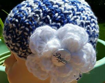 Dodgers Baby, Los Angeles Dodgers hat, Dodgers hat, Dodgers Beanie Hat, Dodgers Newborn hat, knit baby hat, Dodgers baseball cap, baseball