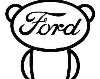 Reddit Ford Snoo Decal