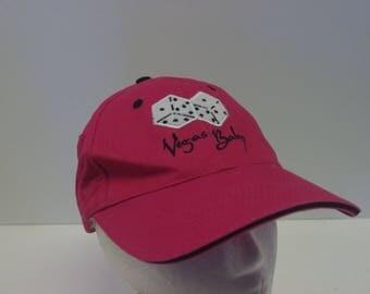 90s low profile Las Vegas dice gamble dad hat