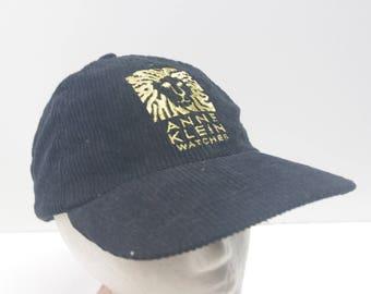 90s Anne Klein Watches baseball cap hat low profile 90s 1990s vintage lion