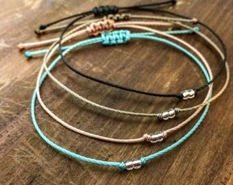 Friendship Bracelet - Bestie Bracelet - Bridesmaid Gift - Best Friend Bracelet - Gift for Her - Best Friend Gift - Gift for Women