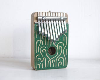 GARDEN - kalimba thumb piano electric G major pentatonic