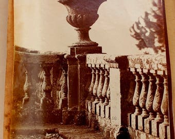 Antique Photograph, Transition Period, of the Century (ca. 1890-1910), attached to paper, 1880S Collection Antiquarian Photographs