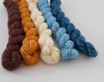 LOVE Sock, Mix 8, laine fingering  teinte main, 5 * 20  g