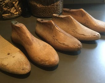 Collection Repro Antique wooden shoe lasts shoe forms