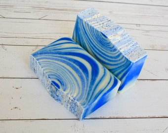 Cool Water Type Soap / Cold Process Men's Soap / Artisan Soap