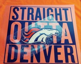 Denver Broncos tees