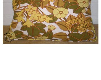 Beautiful Quality Vintage Retro Piped Soft Floral Flower Patterned Scatter Cushion Home Decor Soft Furnishings