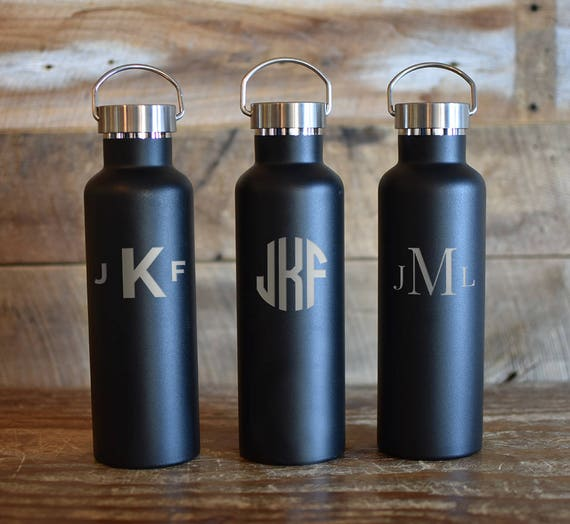 Personalized Insulated Water Bottle Groomsmen Design 25oz | Personalized Gifts | Wedding Party Gifts | Groomsman Gift | Bridal Party Gift