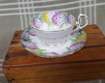Vintage Royal Albert Candytuft Cup & Saucer