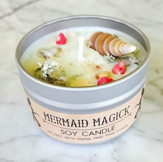 Mermaid Magick Soy Candle