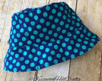Adult bucket hat, custom fabric