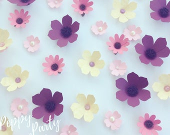 Flower Table Scatter, Flower Confetti, Woodland Party, Flower Party, Garden Party, Garden Bridal Shower, Fairy Party, Woodland Birthday