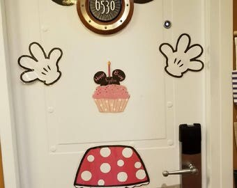 Minnie Mouse disney cruise door decoration magnetized