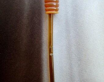Antique Art Deco Celluloid Hatpin