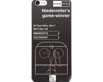 Wild Hockey iPhone Case: Niederreiter's game-winner (2014)