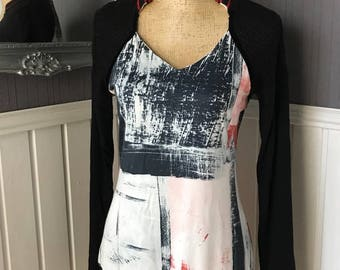 Funky Sweater Dress, Quirky Messcalino Sweater-Dress