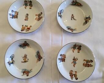 Limoges china bowls for children