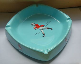 Vintage Johnnie walker ashtray made in England