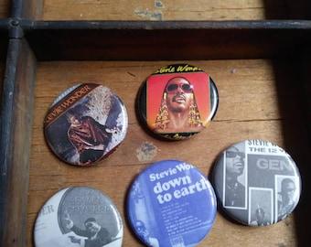 Stevie Wonder Pins