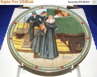 """Winter Clearance An Orphan's Hope"""" 7th Issue in Rockwell's American Dream by Norman Rockwell"""