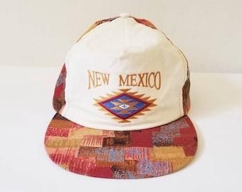 Vintage New Mexico Cotton Cap
