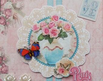 "card series ""Paris Chic"" No. 2"