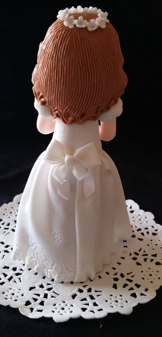 Boy First Communion Cake Topper