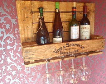 Small wine rack from industry range *.