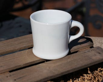 Vintage White Ironstone Mug