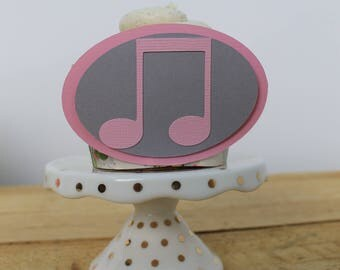 Music Note Cupcake Wrapper
