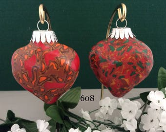 Christmas Ornaments - Set of two (608)