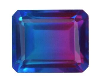 Candy Quartz Triplet Octagon Cut Loose Gemstone 1A Quality 11x9mm TGW 4.50 cts.