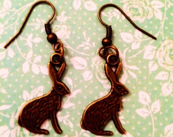 March Mad  Hare Earrings!