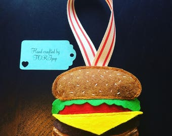 Cheeseburger Ornament